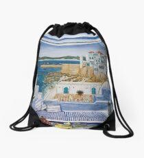 Asilah - Morocco Drawstring Bag