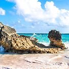 Tropical Pink Sand Beaches, Ocean Waves, Blue Sky by Southern  Departure