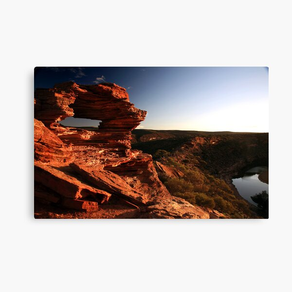 The Final Destination - Nature's window Canvas Print