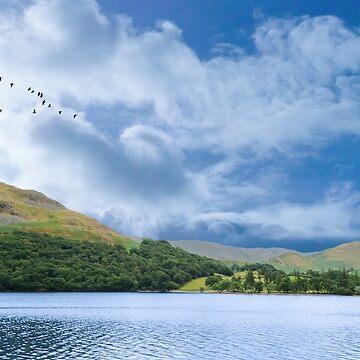 Lake Ullswater by stuartk
