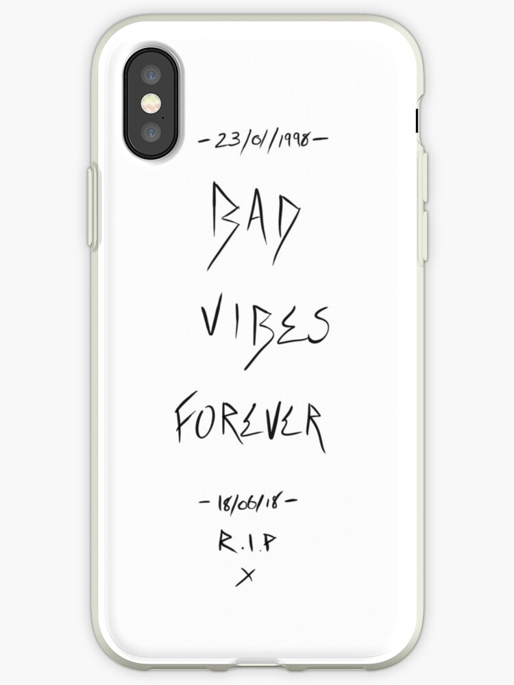new concept ba712 a2f59 'Bad Vibes Forever - XXXTentacion' iPhone Case by Warrenbn