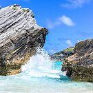 Ocean Waves & Blue Skies in Bermuda by Southern  Departure