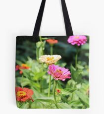 Colorful Flower Garden Tote Bag