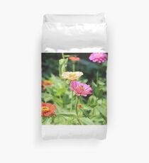 Colorful Flower Garden Duvet Cover