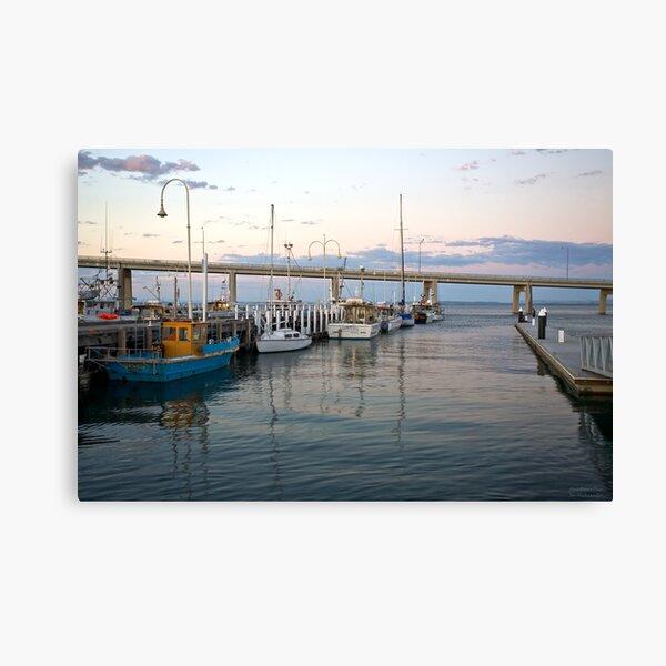 San Remo Wharf  Canvas Print