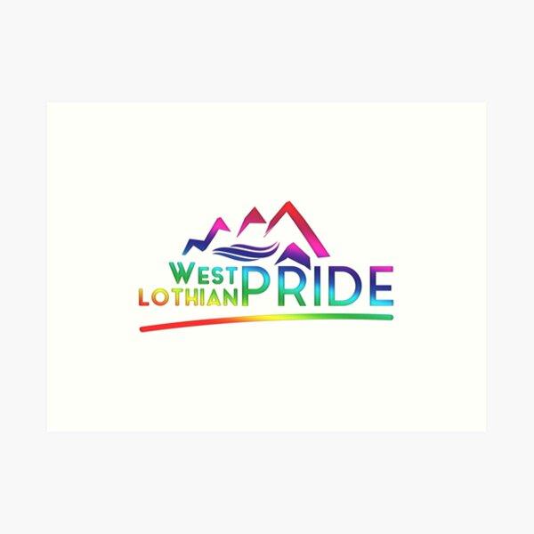 West Lothian Pride Logo Art Print