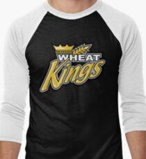Wheat Kings Men's Baseball ¾ T-Shirt