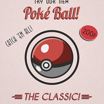 Poke Ball Retro Style by AgentSilver