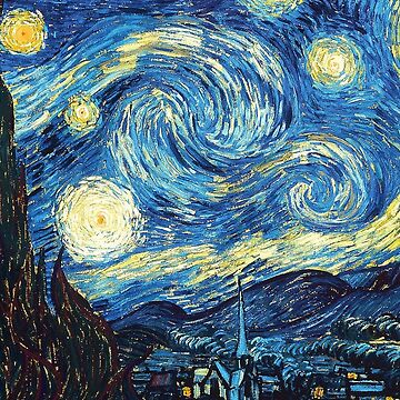 VAN GOGH - THE STARRY NIGHT by cpickwell