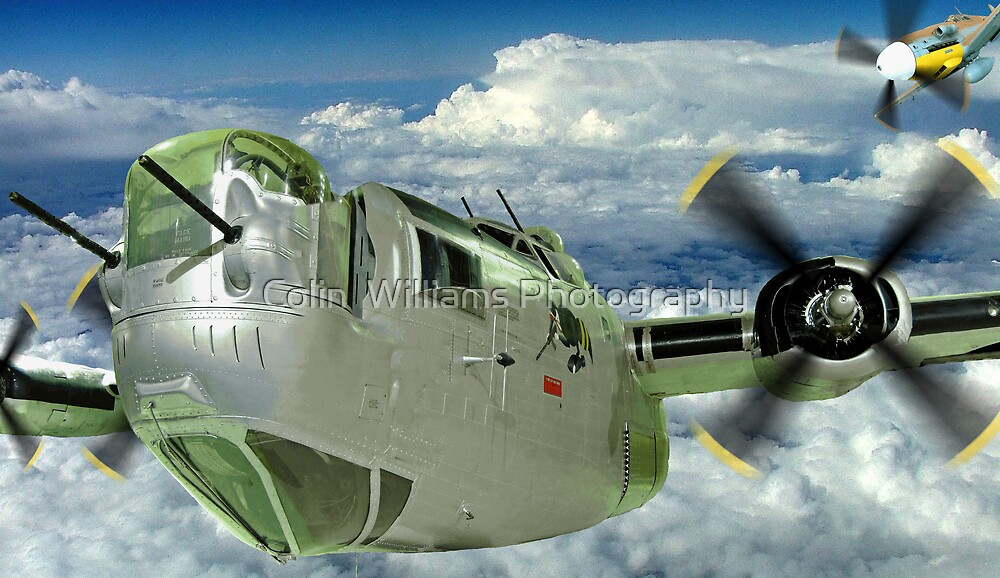 Liberator Attack - Exhibits at the R.A.F. Museum Hendon by Colin  Williams Photography