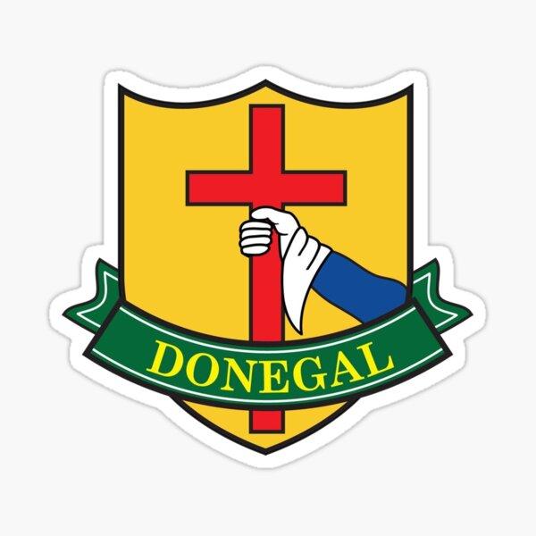 Retro Donegal GAA Jersey Sticker