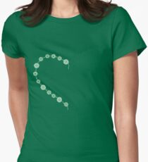 Half a daisy chain Womens Fitted T-Shirt