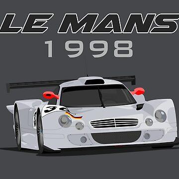 Le Mans Legend #36 - Mercedes-Benz CLK-LM by MD-Colors