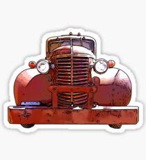 Heavy Duty Vintage Truck 1930's Sticker