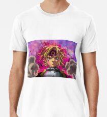 Camiseta premium para hombre NANATSU NO TAIZAI MELIODAS BAN KING