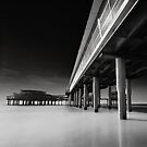 Scheveningen Pier by Joel Tjintjelaar