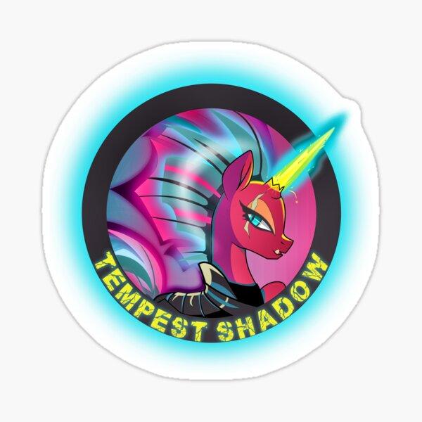 Tempest Shadow Punk Colors Sticker