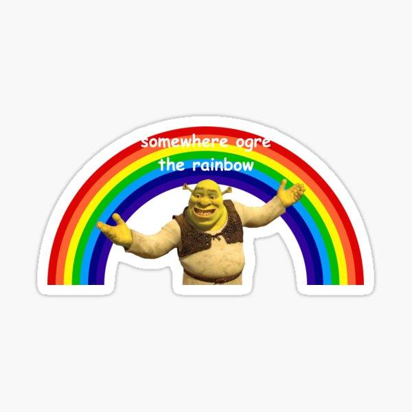 Shrek Wortspiel 2 Sticker