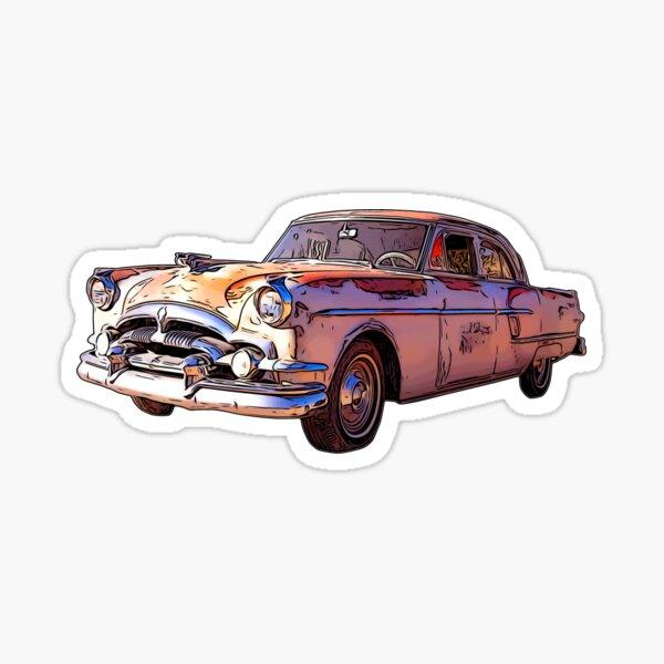 Vintage Packard Caribbean 1953 Sticker