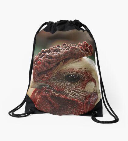 A chook's eye Drawstring Bag
