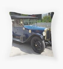 wheelie old Throw Pillow