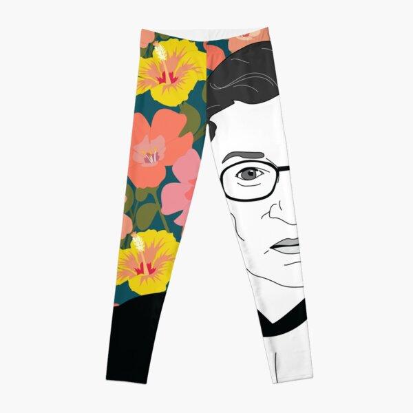 Ruth bader Ginsburg Floral Leggings
