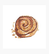 Cinnamon roll Photographic Print