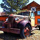 Vintage Heavy Duty Truck 1930's by RetroArtFactory