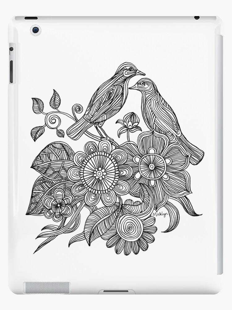 Bird Doodle - Work in Progress by micklyn