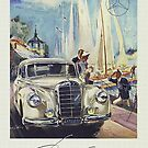 Fabulous Fiftees...1955 Mercedes 300S by edsimoneit
