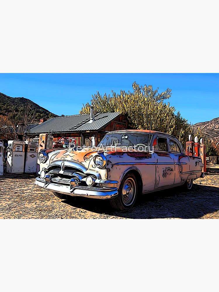 Vintage Packard Caribbean 1953 - Automobile by RetroArtFactory