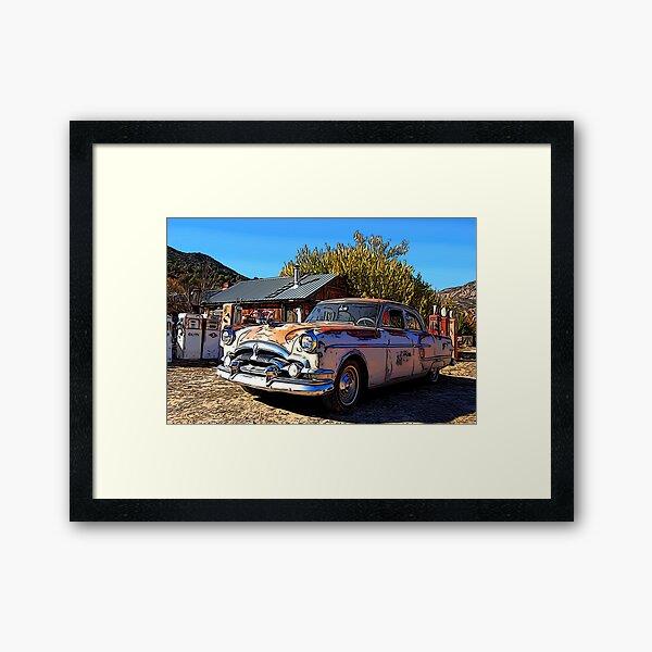 Vintage Packard Caribbean 1953 - Automobile Framed Art Print