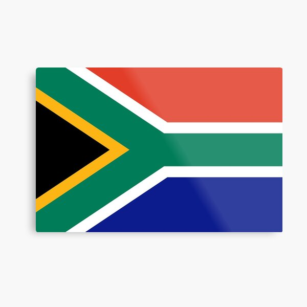 South African Flag- Show your love for South Africa! Metal Print