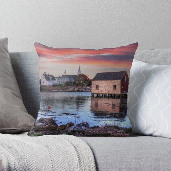 Prospect, Nova Scotia Throw Pillow