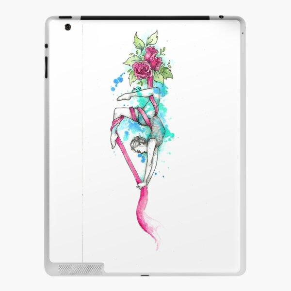 aerial silk  iPad Skin