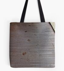 Damp Footprints (picture only) Tote Bag