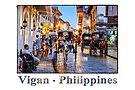 Rush Hour in Vigan City by Ray Warren