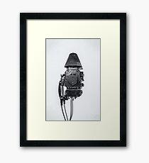 study wall telephone VI Framed Print