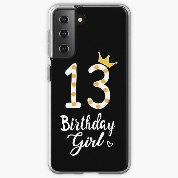 13th Birthday Girl Samsung Galaxy Soft Case