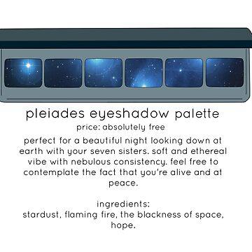 Pleiades Eyeshadow Palette by earlyday