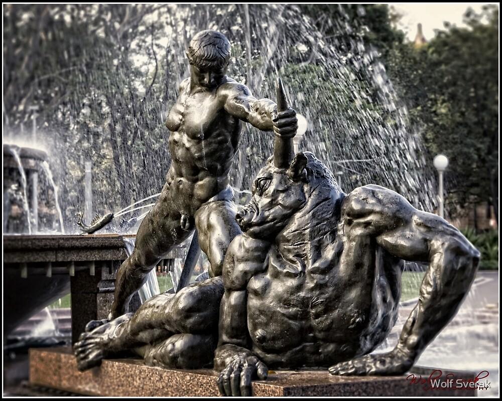 """Good Against Evil"" (Taurus) in Sydney/NSW/Australia by Wolf Sverak"