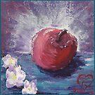 spring apple , Thank you! A+ teacher! by Dawna Morton