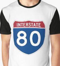 Interstate 80 Graphic T-Shirt