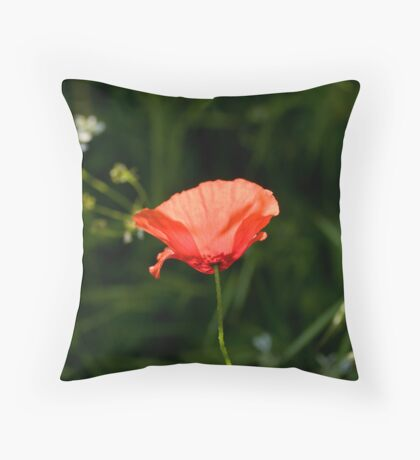 Paper Thin Throw Pillow