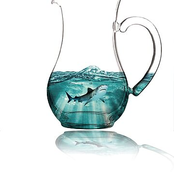 shark on pitcher  by ianmedina5