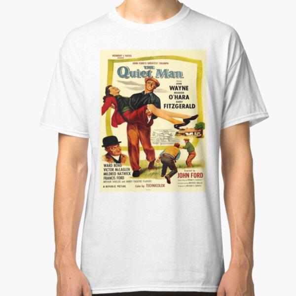 Vintage poster - The Quiet Man Classic T-Shirt