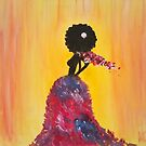 Lady in Pink by Kamira Gayle