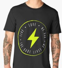 Live. Love. Be Rad. Men's Premium T-Shirt