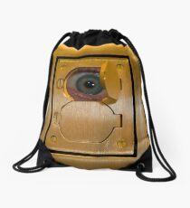 Electric Eye Drawstring Bag