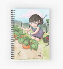 The Garden of Eatin' Spiral Notebook
